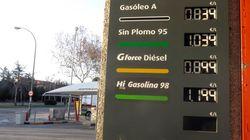 Los carburantes caen a los precios más bajos en 7 años en plena operación