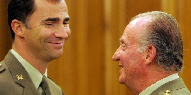 El príncipe de Asturias será proclamado rey Felipe VI en un plazo de