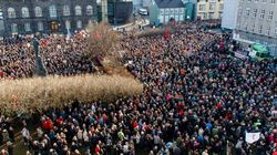 Miles de islandeses piden la dimisión