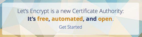 'Let´s Encrypt', certificado SSL gratuito para tu tienda