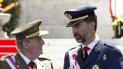 De Juan Carlos I a Felipe