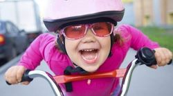 Los niños deberán llevar casco al ir en bici a partir del 9 de