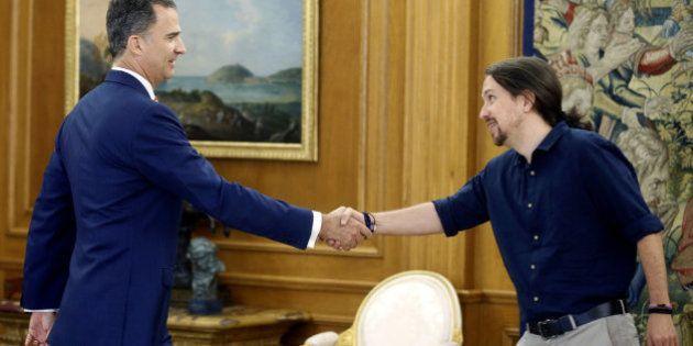 Iglesias traslada al rey su disposición a escuchar una oferta del PSOE si Sánchez