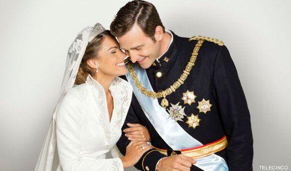 Joaquín Reyes imitando al príncipe Felipe, ahora el rey Felipe VI