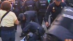 Cargas policiales en el 'Rodea el Congreso' contra la