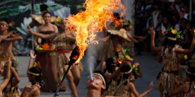 El Festival filipino del Nenúfar, los aplausos a Obama y otras fotos de este