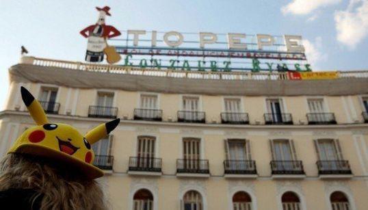 La 'pokequedada' en Madrid bate el récord de Sidney con más de 3.000