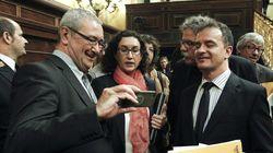 Los diputados catalanes: