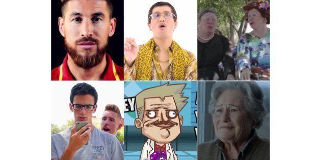Himnos, parodias y canciones de moda: lo más visto en YouTube en
