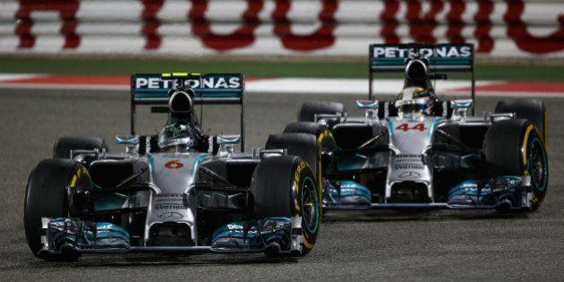 La Fórmula 1 y las banderas