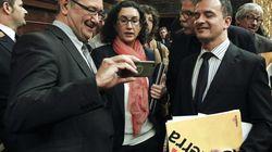 Para muchos catalanes, el Congreso les ha dado con la puerta en las