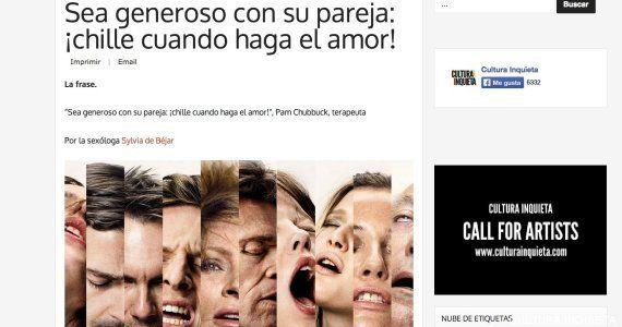 Facebook cierra el perfil de 'Cultura Inquieta' tras publicar dos artículos de
