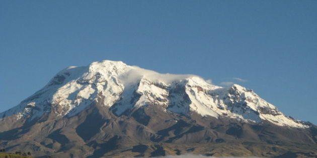 El Chimborazo le quita al Everest el título del punto más alejado del centro de la