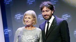 Premio Planeta 2015: Alicia Giménez Bartlett, ganadora; Daniel Sánchez Arévalo,