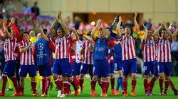 Gesta del Atlético ante el Barcelona