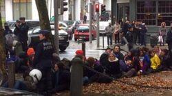 Parlamentarios de Podemos y un menor, detenidos en una protesta contra el