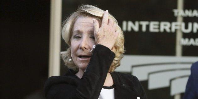 Esperanza Aguirre vuelve a la carga contra los agentes de
