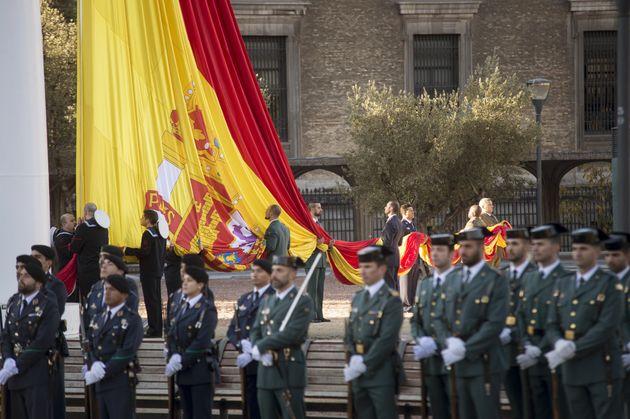 El 6 de diciembre, los españoles celebraron su