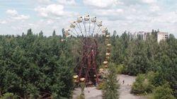 El impactante viaje en drone a Pripyat, la ciudad fantasma de Chernóbil