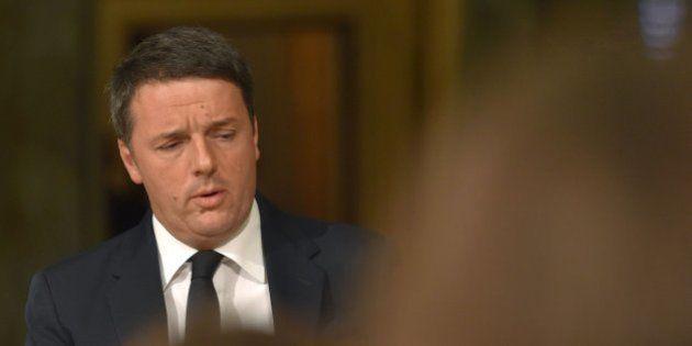 Matteo Renzi formaliza su dimisión como primer ministro de