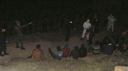 Rescatados en Almería 58 inmigrantes que viajaban en patera desde