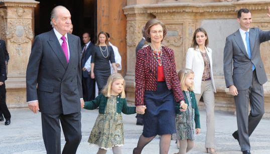 Solo ellos serán la Familia Real (FOTO