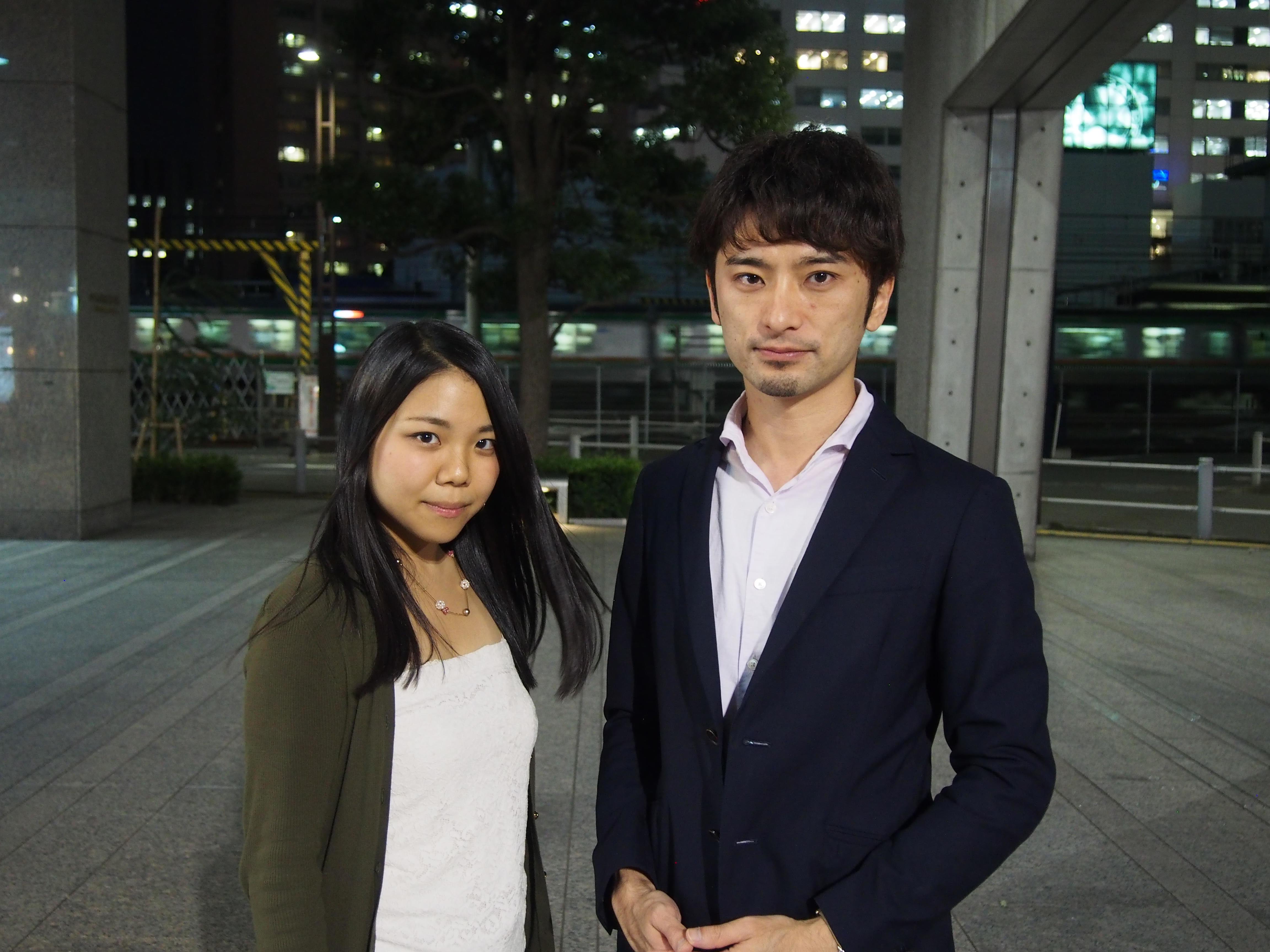 林田さん(左)、安田さん(右)