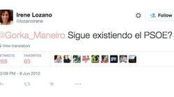 Cuando Irene Lozano criticaba al PSOE y al bipartidismo en