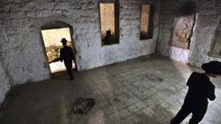Un grupo de palestinos incendia un santuario judío en