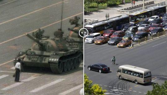 El antes y después de Tiananmen, en el 25 aniversario de la matanza