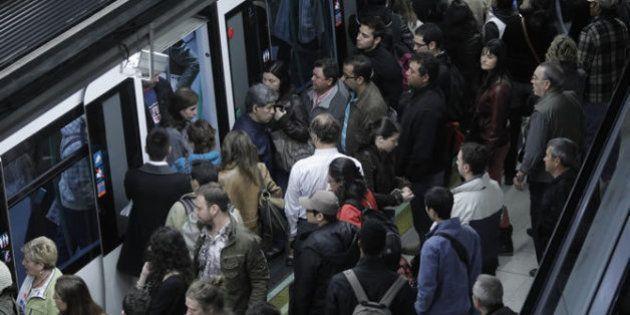 Horarios de los paros del Metro de Madrid el 22 de