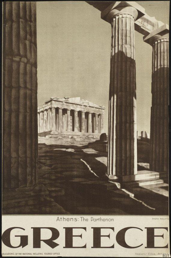 Haz turismo por Grecia a través de estas postales