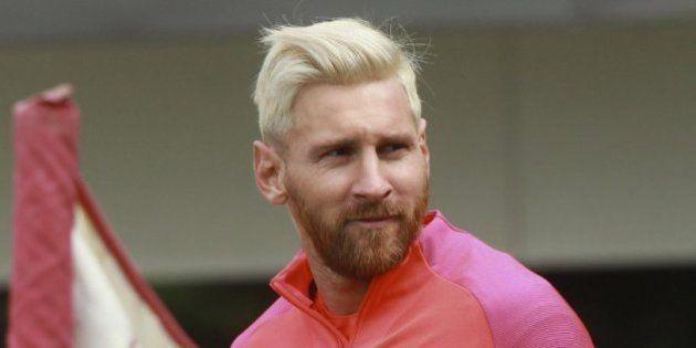 La imagen sobre el nuevo peinado de Messi que triunfa en