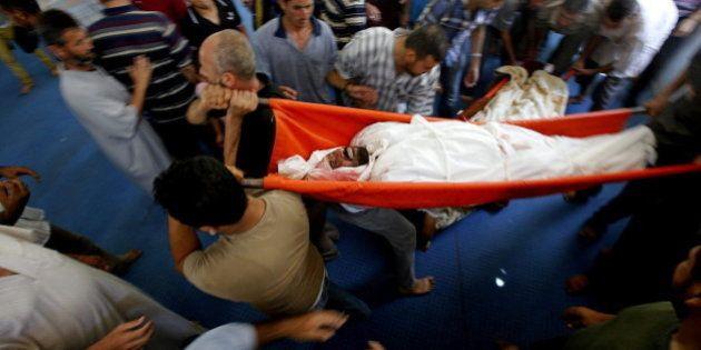 El drama de Gaza: 2.120 palestinos asesinados por los bombardeos de