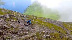 Mira hasta dónde es capaz de llegar una bicicleta