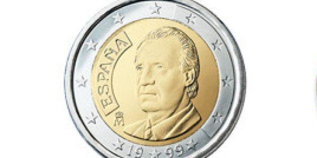 Las monedas con la cara de Felipe VI llegarán en