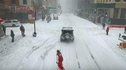 Recorre las calles de Nueva York haciendo