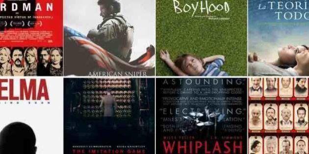 Premios Oscar 2015: ¿cuál elegirías como mejor