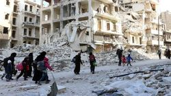 Siria detiene los bombardeos sobre Alepo, pero siguen los