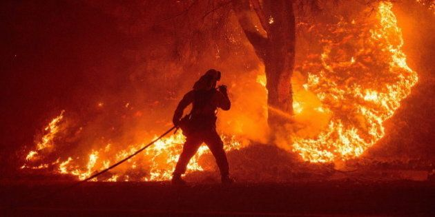 15 imágenes impresionantes de los incendios de California