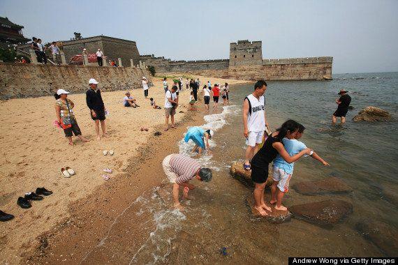 La Gran Muralla china que llega al mar: nunca la habías visto así
