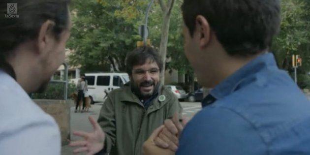 El debate entre Pablo Iglesias y Albert Rivera bate récord de audiencia de
