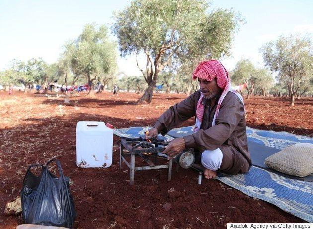 Lanchas inflables y perforaciones: los refugiados climáticos que