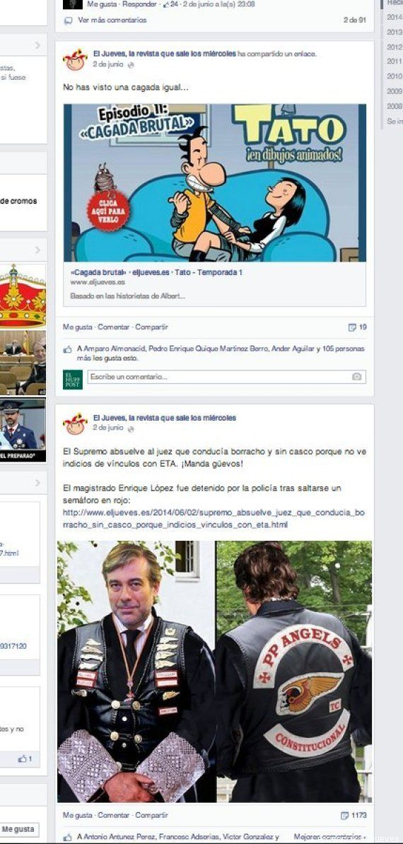 Portada de El Jueves del rey y Felipe: el misterio de la imagen retirada de sus redes sociales