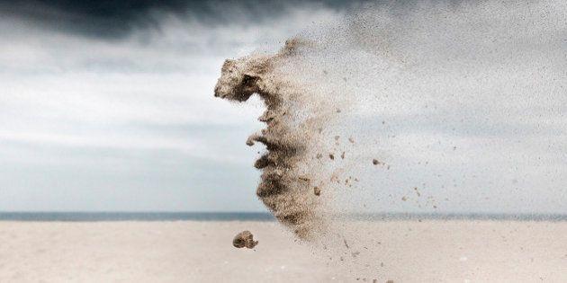Una fotógrafa captura retratos de 'criaturas de arena' que desafían la