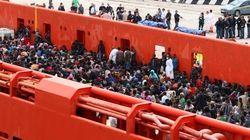 Italia rescata a 2.500 inmigrantes cerca de Sicilia en 24