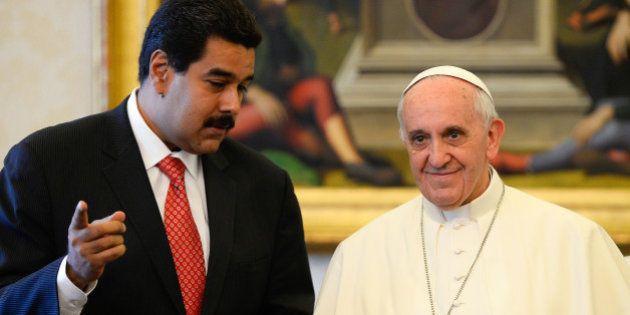 Maduro recurre al Vaticano para que medie con la