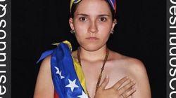 Desnudos en Twitter para apoyar las protestas en Venezuela