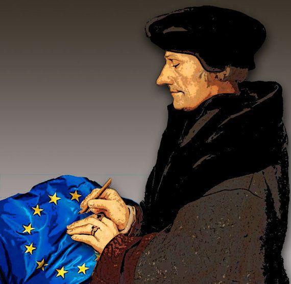 Erasmus: reacción, y contra un