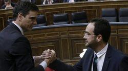 PP y PSOE aprueban sin apoyos en el Congreso su pacto